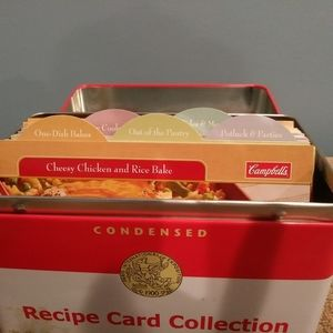 campbell soup Kitchen - Campbell Soup Recipe Tin